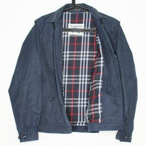 VTG Burberrys Burberry Plaid Lined Jacket N338